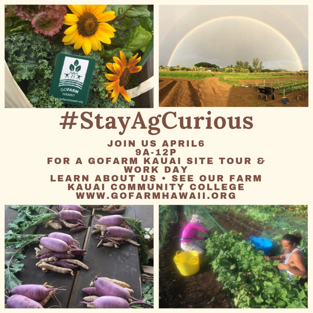 #StayAgCurious Kaua'i