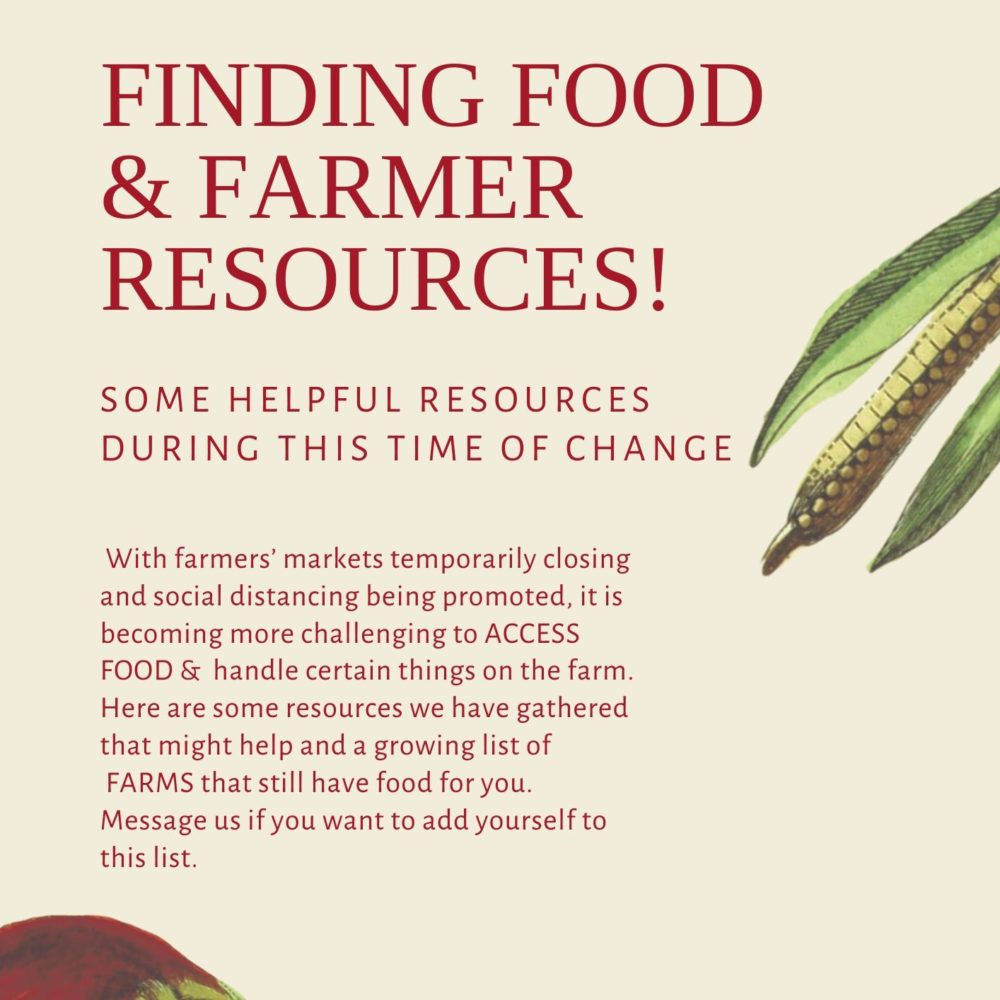 Farmer Resources for COVID-19